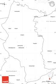 Map Of Africa Blank by Blank Simple Map Of Tirunelveli Kattabomman
