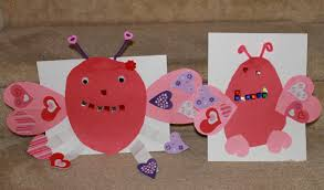 mom to 2 posh lil divas love bugs a valentine craft u0026 writing