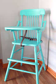 Eddie Bauer Light Wood High Chair Girls In The Garden High Chair With A Coat Of Paint Diy Home