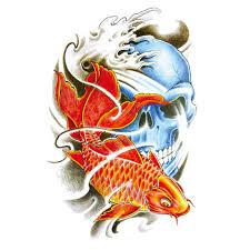 carp fish tattoo online get cheap red fish tattoo aliexpress com alibaba group