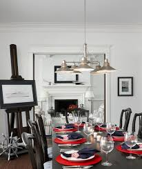 Nautical Dining Room Nautical Navy Traditional Dining Room Other By Cottage