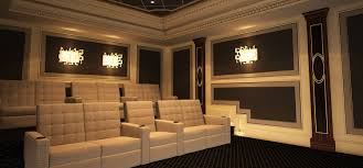 beautiful home theater room design with small home interior ideas