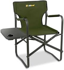Folding Directors Chair With Side Table Oztrail Classic Director S Chair Side Table Snowys Outdoors
