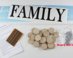 birthday signing board family birthday board diy kit wood sign family celebrations