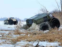off road car russian sherp atv is an impressive off road vehicle business insider