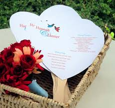 diy wedding fan programs diy designer wedding fan program kit fan wedding programs