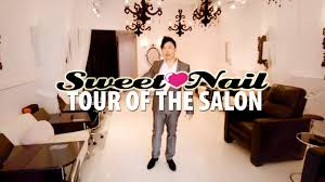 tour of sweet nail salon youtube