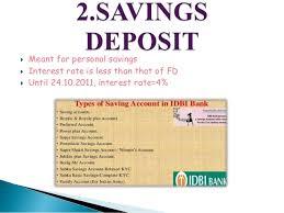 types of deposit accounts