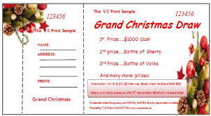 15 free editable raffle ticket templates for word demplates