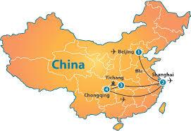 China On The Map by Majestic Yangtze River 12 Days U2013 Nexus Holidays