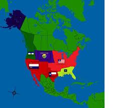 Montana Usa Map by Alternate Usa Map By Gamekiller12 On Deviantart