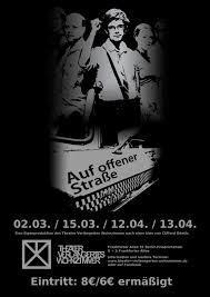 Singende Wohnzimmer Berlin Plakat