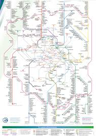 Moscow On Map Map Of Moscow Commuter Rail Stations U0026 Lines