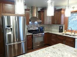 Dark Shaker Kitchen Cabinets Dark Brown Kitchens In Seattle Painting Oak 100 Fascinating