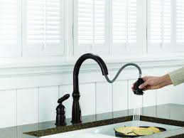 Delta Kitchen Faucet Single Handle Delta Deluca Single Handle Pull Down Sprayer Kitchen Faucet With