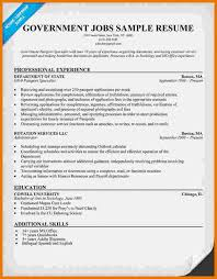 Sample Resume For Government Jobs by Resume Examples Personal Free Template Sample With Job Intended