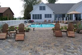Inground Pool Patio Designs Pool Besf Of Ideas And Patio Design With Semi Inground Pools