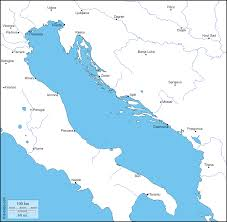 Napoli Map by Adriatic Sea Free Map Free Blank Map Free Outline Map Free