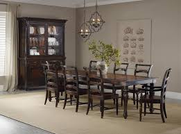 Hooker Dining Room Sets Buffet And Hutch With 2 Seeded Glass Doors By Hooker Furniture