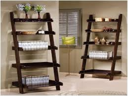 5 Shelf Ladder Bookcase by Storage Ladder Shelf Ladder Shelf Diy Ladder Shelf Bookcase Ikea