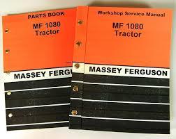 set massey ferguson mf 1080 tractor service parts manuals shop
