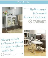 target furniture accent tables furniture interesting target mirrored furniture for home furniture
