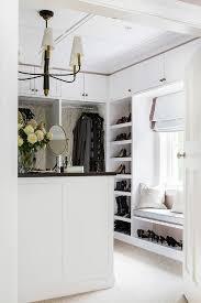 Window Seat Bench - walk in closet window seat bench with shoe storage transitional