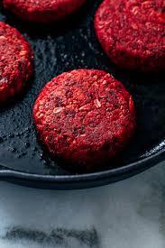 beet patties with vegan tzatziki making thyme for health