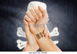 hand barcode tattoo id stock photos u0026 hand barcode tattoo id stock