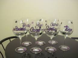 diy monogram wine glasses useful diy ideas how to decorate wine glass