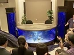 Fish Tank Desk by Tanked Reveal Shark Tank Youtube