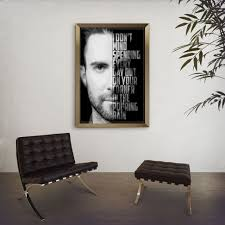 popular items for black and white art on etsy adam levine she will