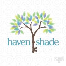 Home Decoration Logo Sold Logo Haven Shade Home Decor Stocklogos Com