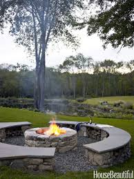 Patio And Firepit by 10 Fire Pits That Make Fall Evenings Extra Magical
