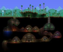 Terraria How To Make A Bed Cave House Starter Base With Download Link Terraria