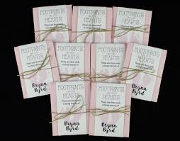 Memorial Service Favors Baby Infant Child Memorial Seed Packets U2013 Footprints On Our