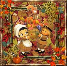 grape harvest betty boop at thanksgiving picture 99293448