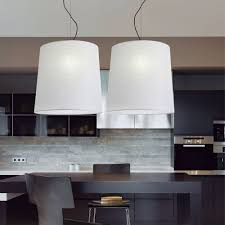 Large Drum Pendant Chandelier Kitchen Crystal Pendant Lighting White Pendant Light Bar Pendant