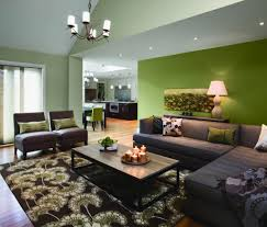 makeovers and cool decoration for modern homes green living room