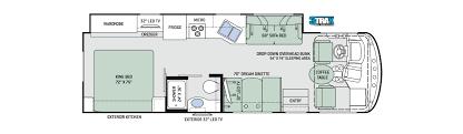 rent a 31 u0027 class a motorhome with full wall slide rv rental