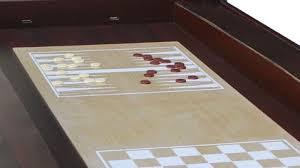 large multi game table playcraft danbury 14 in 1 multi game table espresso shuffleboard