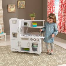 cuisine kidkraft vintage play kitchen white