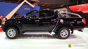 mitsubishi trucks 2015 2015 mitsubishi l200 double cab instyle 2 5l diesel walkaround