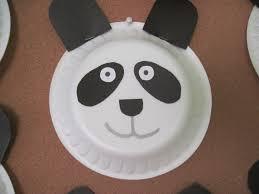 paper plate panda craft ideas 4 funnycrafts