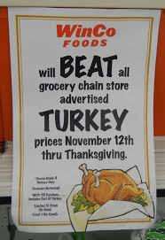 winco will beat advertised thanksgiving prices including turkeys