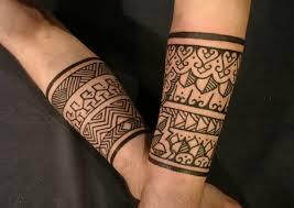 tatouage tribal bracelet pour bras d homme ou femme tattoos for