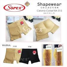 cd sorex pembesar bokong ba015 shapewear sorex