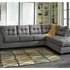 Corner Settees And Sofas Benchcraft Maier Raf Corner Chaise And Laf Sofa Set Sofas
