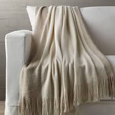 tepi neutral throw blanket crate and barrel