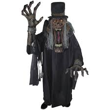 Halloween Monster Costume by Undertaker Ghoul Creature Reacher Scary Monster Costume